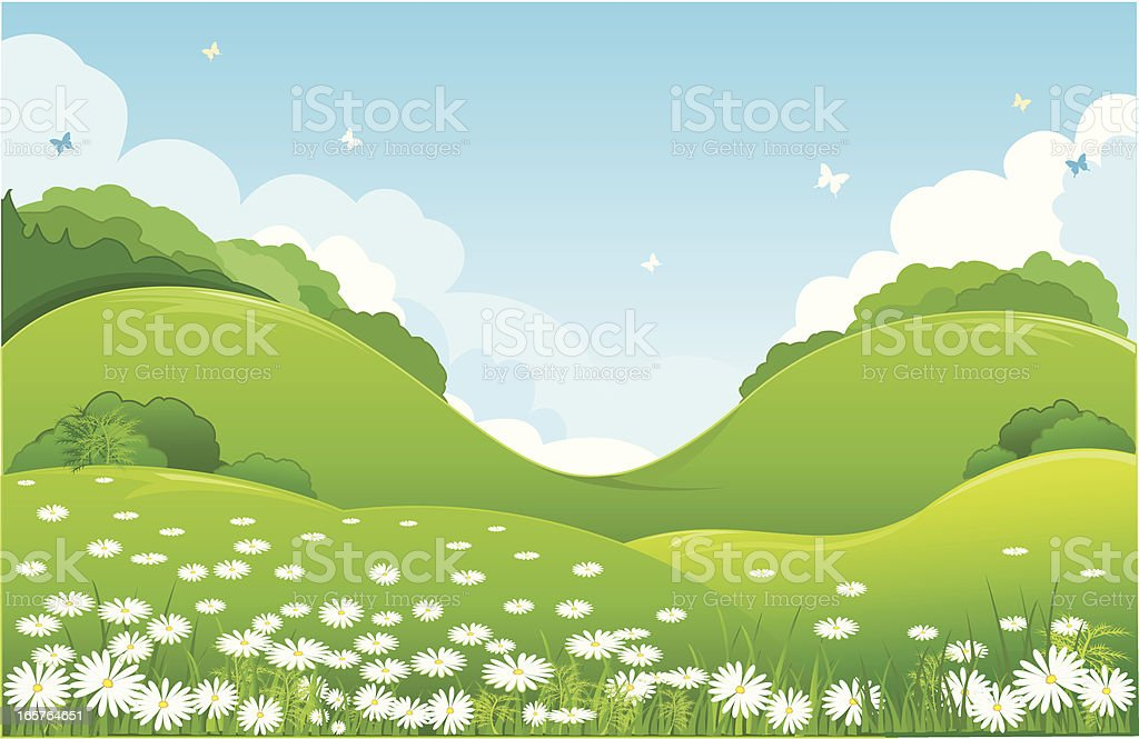 nature royalty-free stock vector art
