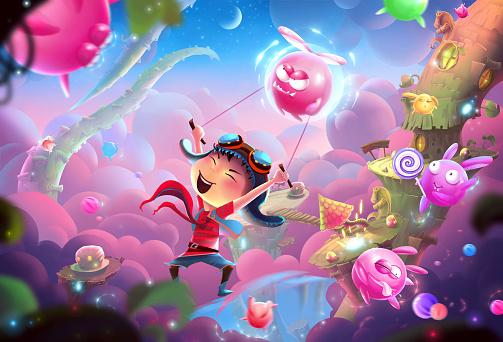 Naughty Kid's Fantastic Happy World and WonderLand