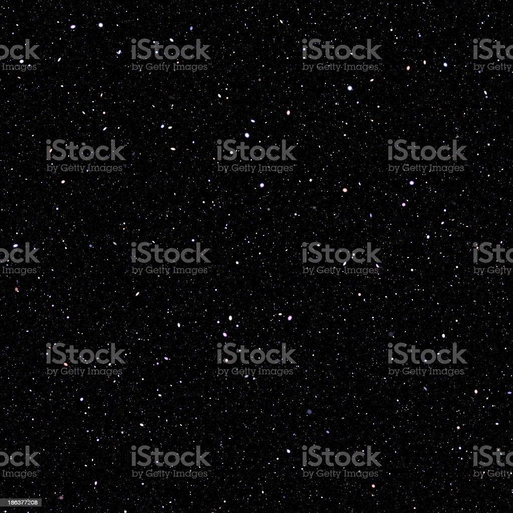nebula sky vector art illustration