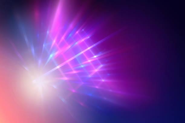Neon light, abstract modern background vector art illustration