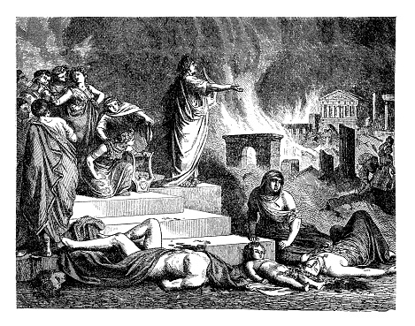 Nero , Roman emperor