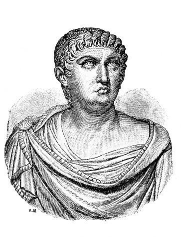 Nero, was Roman emperor in the old book Encyclopedic dictionary by A. Granat, vol. 6, S. Petersburg, 1894