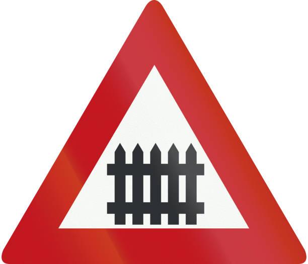 23 Railroad Crossing Gates Clip Art, Vector Graphics and