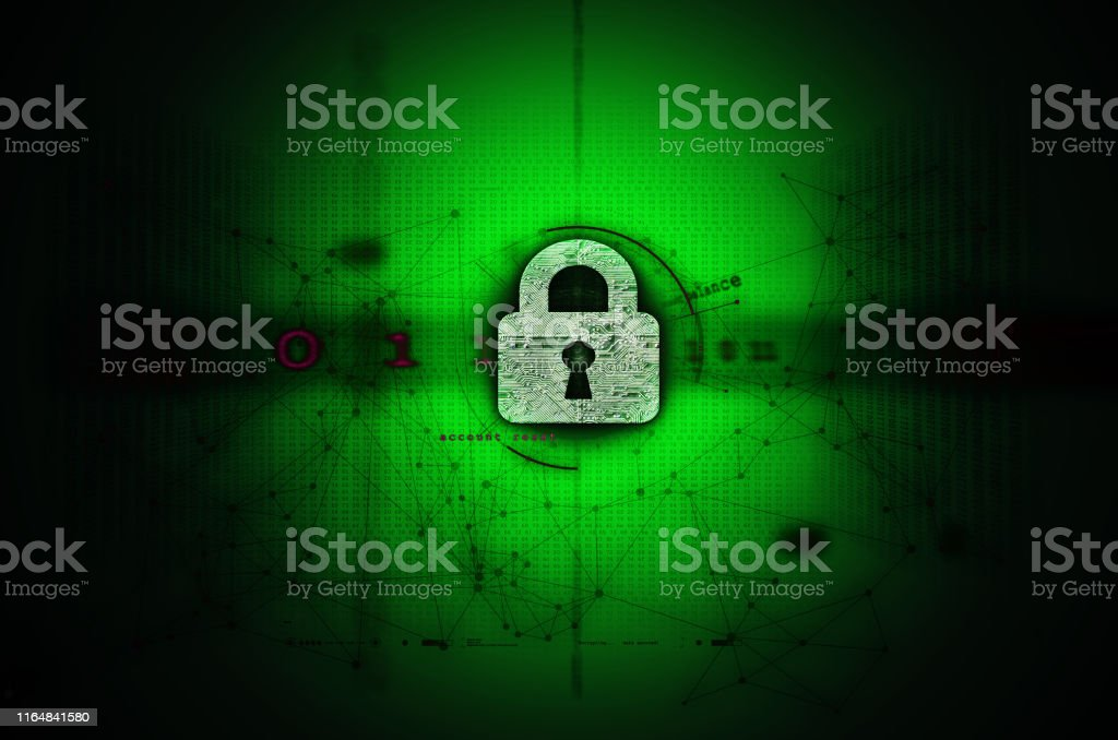 Abstract illustration of Network & Computer security and privacy