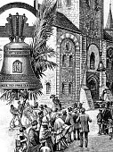 New bell for the church in Hildesheim