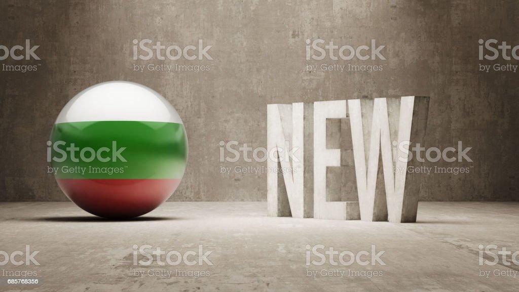 Nuevo concepto de ilustración de nuevo concepto de y más banco de imágenes de bandera libre de derechos