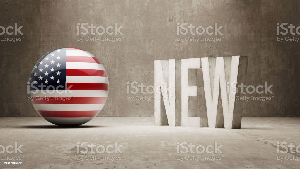 Nuevo concepto de ilustración de nuevo concepto de y más banco de imágenes de américa del norte libre de derechos