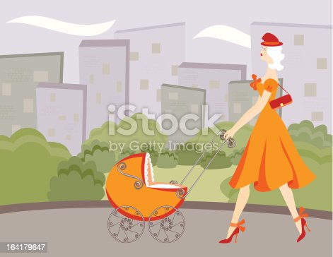 istock New Mom Fashionista 164179647