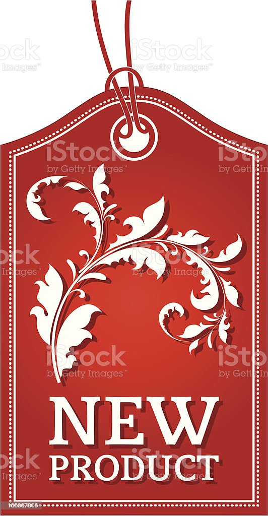 New Product label royalty-free stock vector art