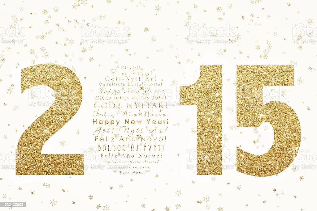 New Year celebration background vector art illustration