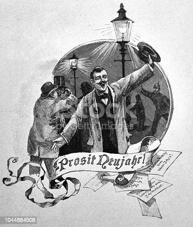 New Year Prosit - 1895