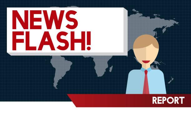 Top 60 News Flash Clip Art, Vector Graphics And