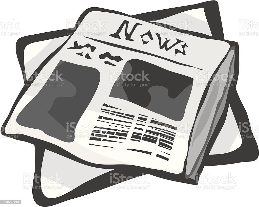 News royalty-free news stock vector art & more images of copy space