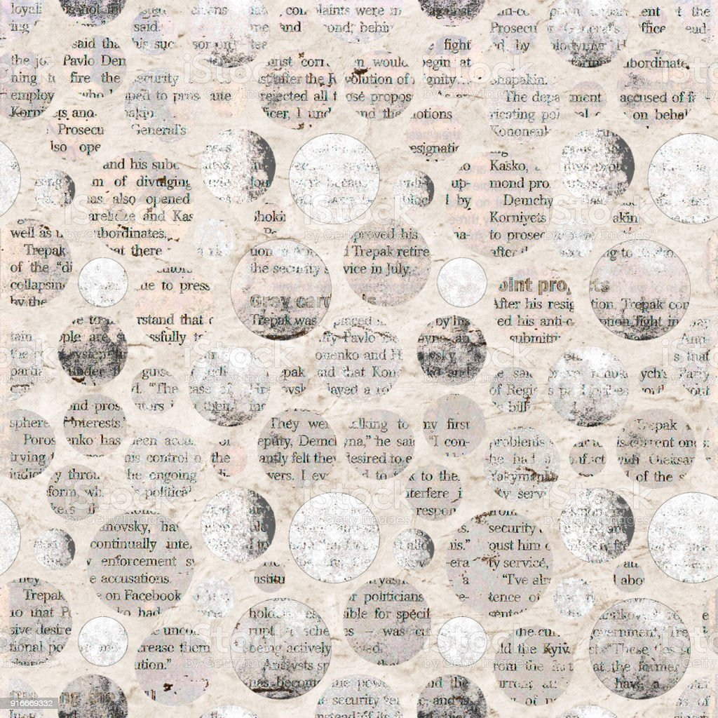 newspaper collage clippings with mixed text stock vector art & more