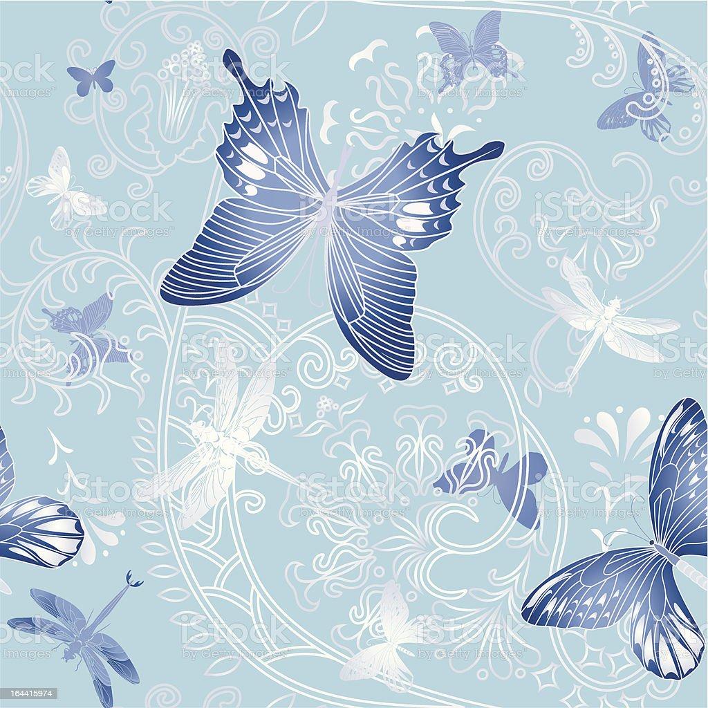 Nice spring seamless royalty-free stock vector art