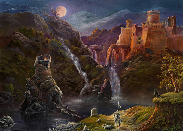 """Night in fairy kingdom Oil Painting, my own artwork. The similar images: [url=/file_closeup.php?id=23544679][img]file_thumbview_approve.php?size=2&id=23544679[/img][/url]  [url=/file_closeup.php?id=12768662][img]file_thumbview_approve.php?size=2&id=12768662[/img][/url] [url=/file_closeup.php?id=15066701][img]file_thumbview_approve.php?size=2&id=15066701[/img][/url] [url=/file_closeup.php?id=11065514][img]file_thumbview_approve.php?size=2&id=11065514[/img][/url]  Here you will find my landscape oil-painting, and also a little still-life and imagination [url=/file_search.php?action=file&lightboxID=2919829/]My landscape painting[/url] [url=/file_search.php?action=file&lightboxID=2919829][img]file_thumbview_approve.php?size=1&id=6197534[/img][img]file_thumbview_approve.php?size=1&id=7631762[/img][img]file_thumbview_approve.php?size=1&id=5725232[/img][img]file_thumbview_approve.php?size=1&id=6549131[/img][img]file_thumbview_approve.php?size=1&id=8172410[/img][img]file_thumbview_approve.php?size=1&id=5845897[/img][/url] The images for christmas cards [url=/file_search.php?action=file&lightboxID=4980435]Lightbox """"Christmas night""""[/url] [url=/file_search.php?action=file&lightboxID=4980435][img]file_thumbview_approve.php?size=1&id=7631762[/img][img]file_thumbview_approve.php?size=1&id=7476667[/img][/url][img]file_thumbview_approve.php?size=1&id=7855127[/img][/url]  werewolf stock illustrations"""