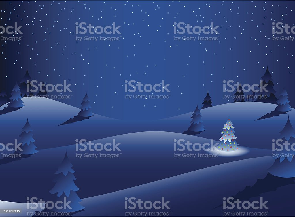 Night Scene royalty-free night scene stock vector art & more images of backgrounds