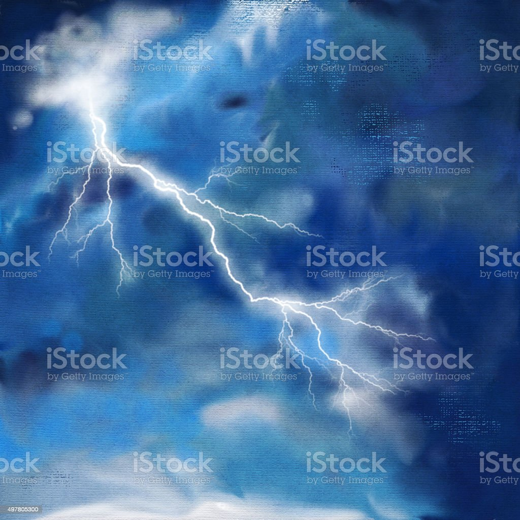 Sfondo cielo in tempesta