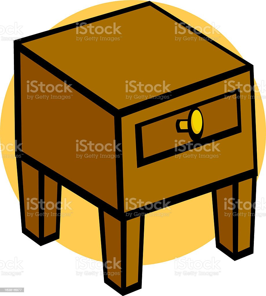 nightstand furniture royalty-free nightstand furniture stock vector art & more images of carpentry