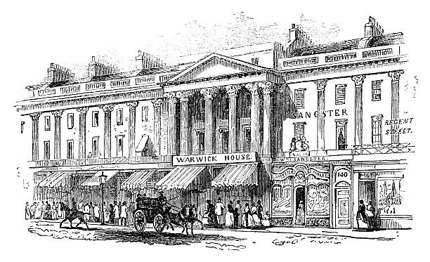 Image result for regent street illustration