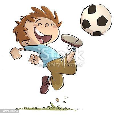 istock niño jugando a la pelota 482475054