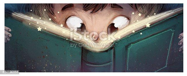 istock niño leyendo un libro 534196888