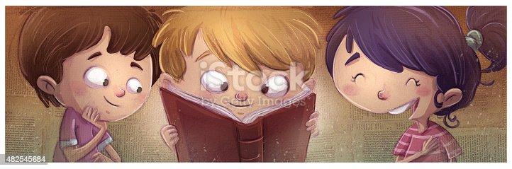 istock niños leyendo libros 482545684