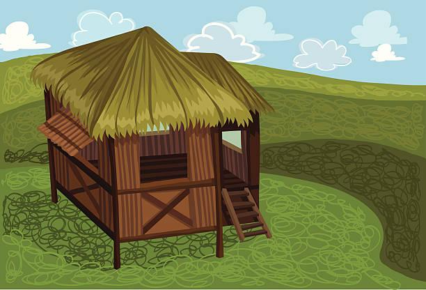 Best Nipa Hut Illustrations, Royalty-Free Vector Graphics ...