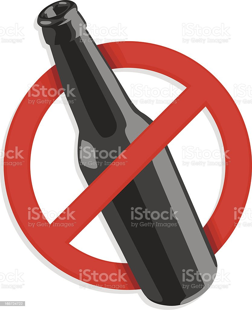 no alcohol sign royalty-free no alcohol sign stock vector art & more images of alcohol