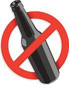 no alcohol graphic