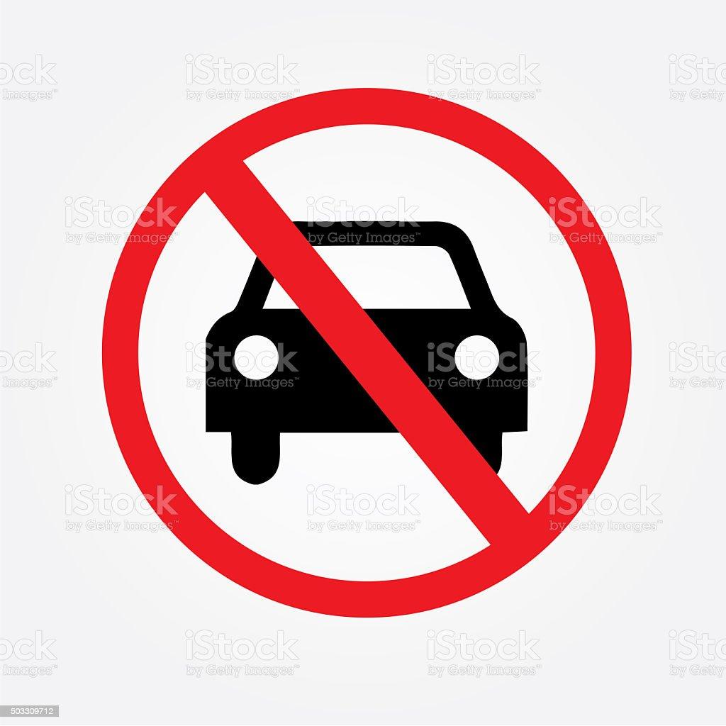 aucune voiture ou pas de panneau de signalisation stationnement interdit signe cliparts. Black Bedroom Furniture Sets. Home Design Ideas