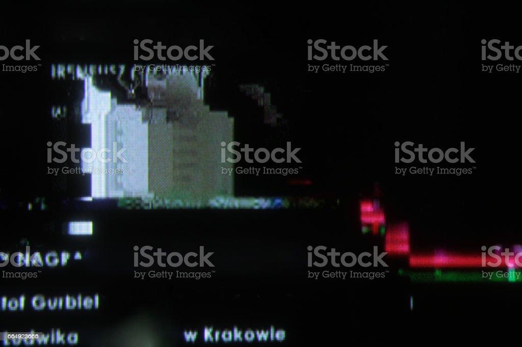 Tv No Signal Noise Glitch Fail Display Digital Error Disconect