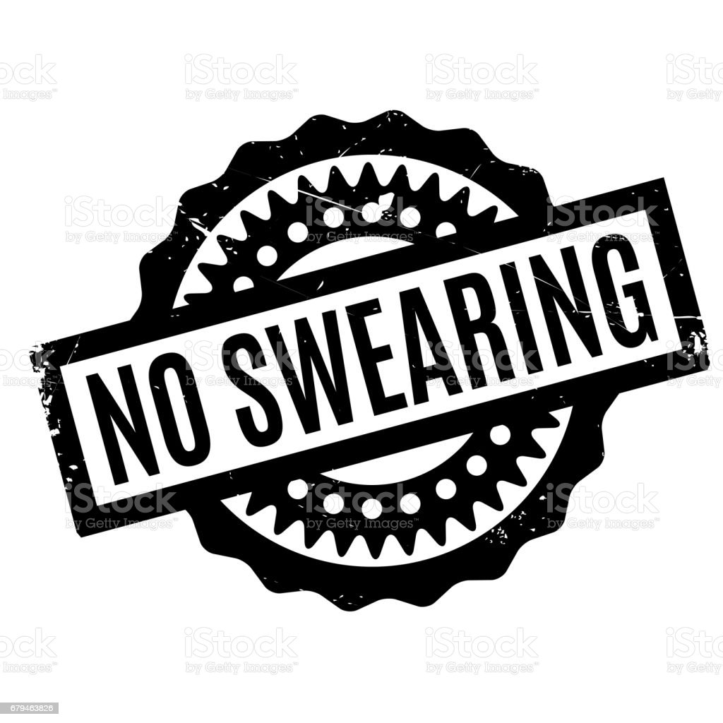 No Swearing rubber stamp royalty-free no swearing rubber stamp stock vector art & more images of crime