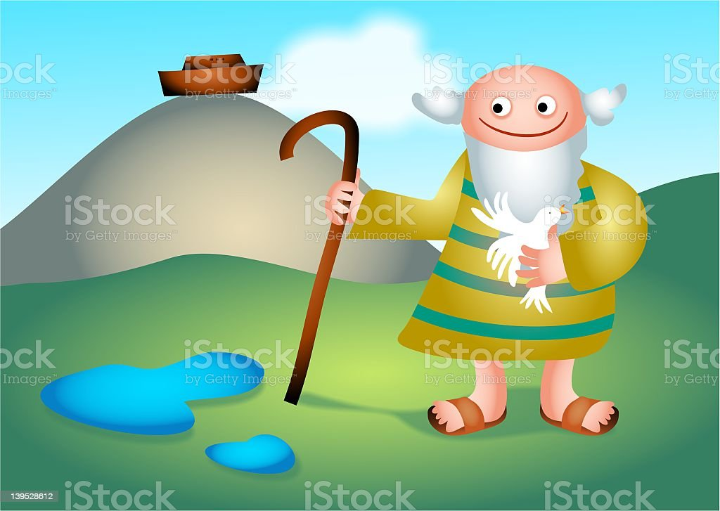 Noah royalty-free stock vector art