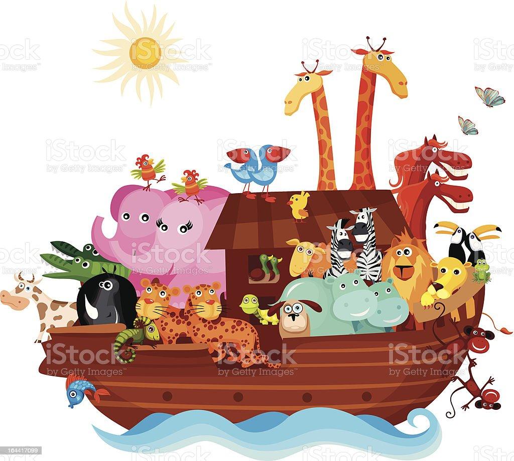 Noah's Ark royalty-free stock vector art