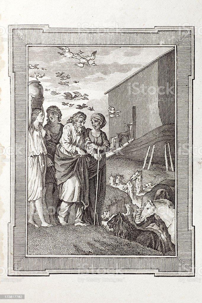 Noah's Ark royalty-free noahs ark stock vector art & more images of 18th century