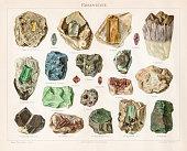 istock Noble stones chromolithograph 1895 667660390