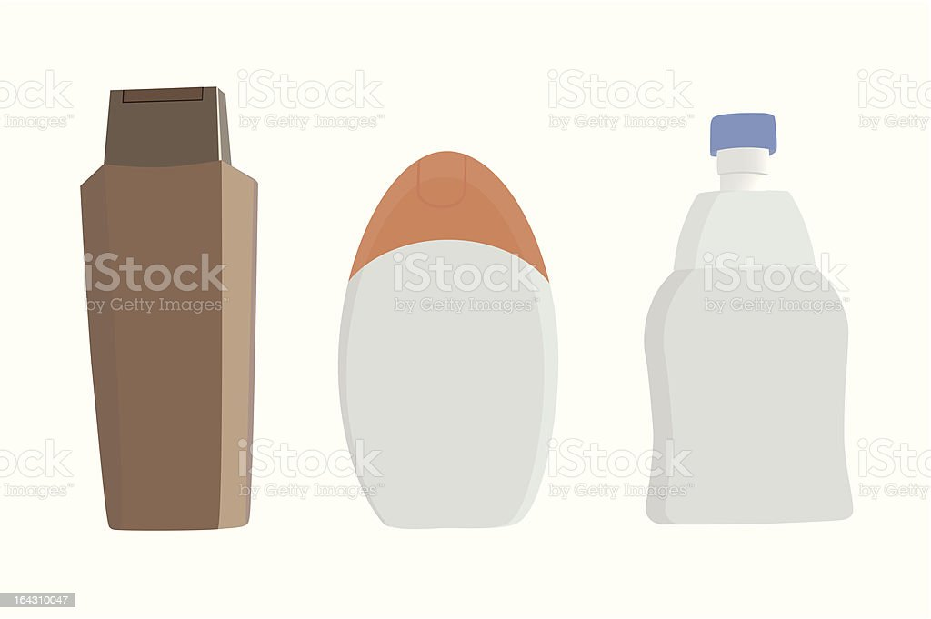 no-name containers royalty-free stock vector art