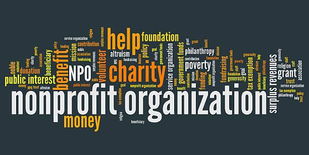 stockillustraties, clipart, cartoons en iconen met non-profit organization - non profit