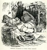 Norse Mythology Goddess Frigg Stock Illustration - Download Image