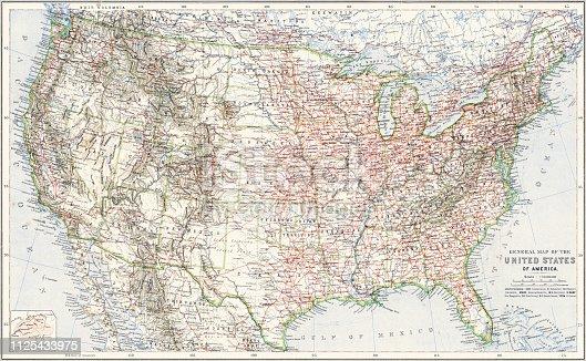 "illustration was published in 1897 ""Nordamerica"