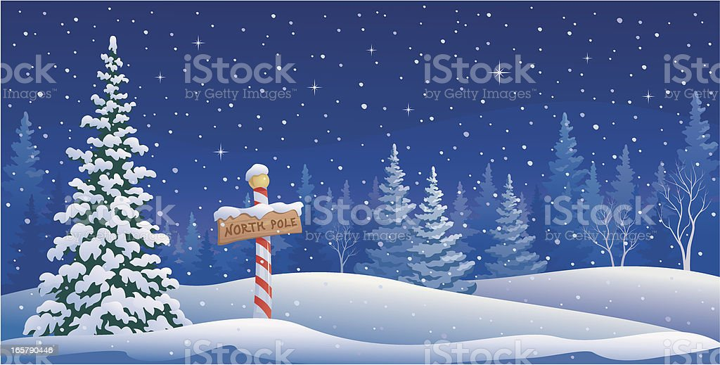 royalty free north pole clip art vector images illustrations istock rh istockphoto com north pole clipart black and white north pole clipart black and white