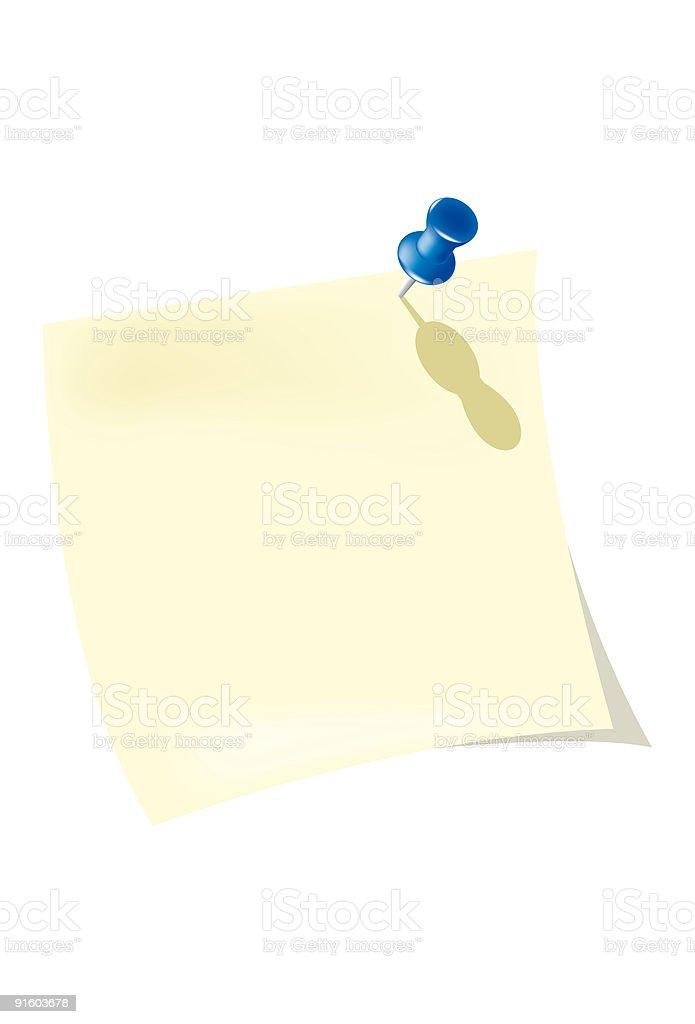 note pad royalty-free stock vector art