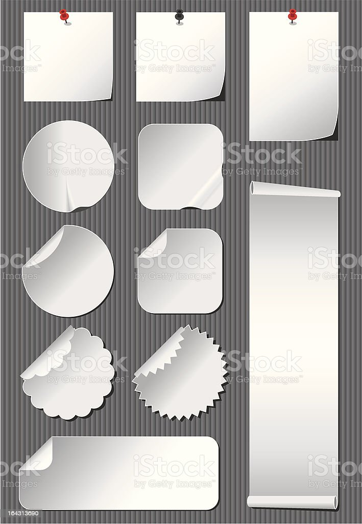 Notes royalty-free stock vector art