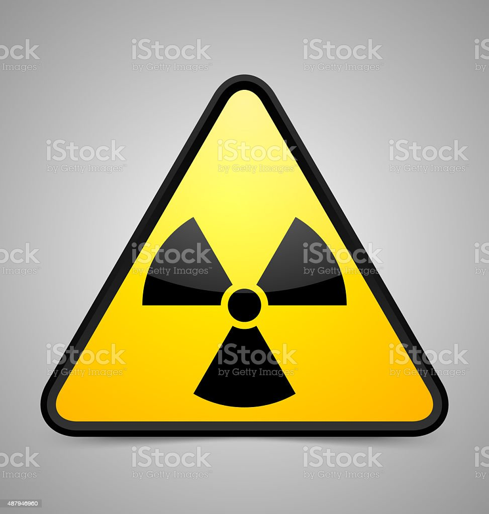 Nuclear Symbol Stock Vector Art More Images Of 2015 487946960 Istock