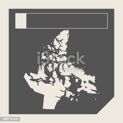 istock Nunavut state in Canada 468144431