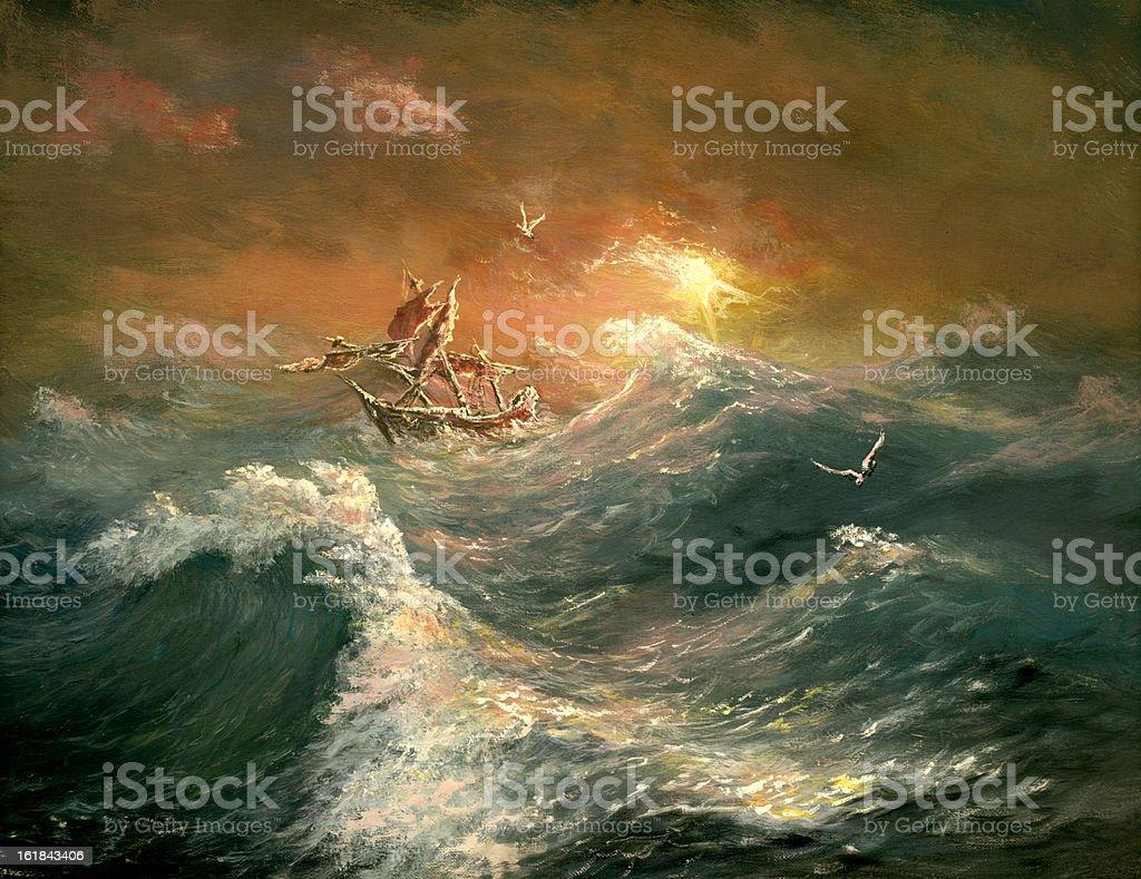 ocean royalty-free stock vector art
