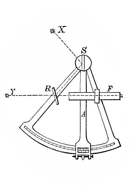 ilustrações de stock, clip art, desenhos animados e ícones de oitante - sextante