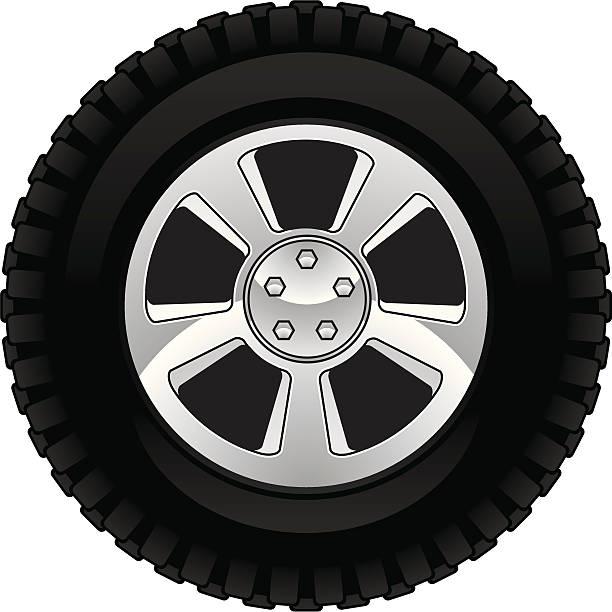 off road tire - 橡膠 幅插畫檔、美工圖案、卡通及圖標