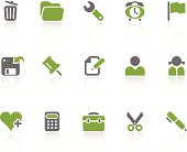 Office + Interface icons / kiwi series